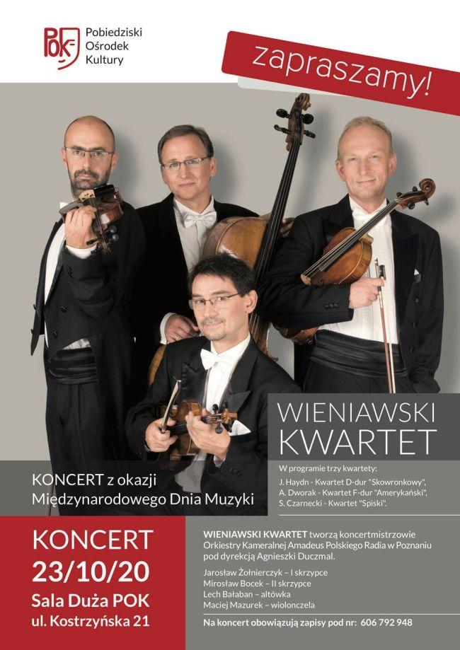 wieniawski kwartet plakat