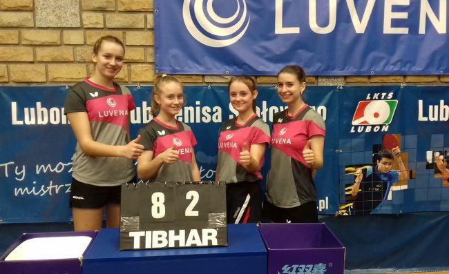 tenisistki stołowej LKTS Luboń
