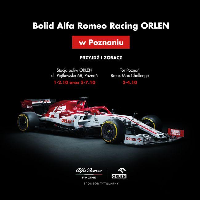 bolidu Alfa Romeo Racing ORLEN