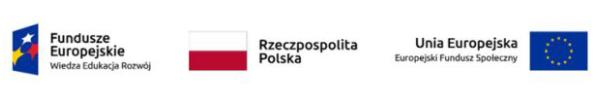 logotypy Funduszy Europejskich, Rzeczpospolitej Polskiej i Unii Europejskiej