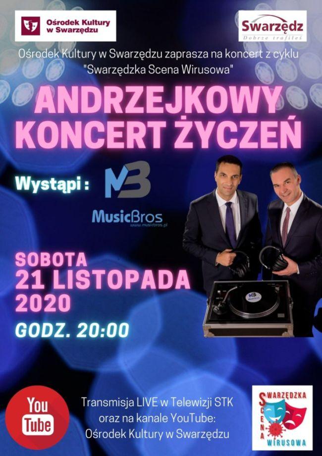 koncert życzeń plakat