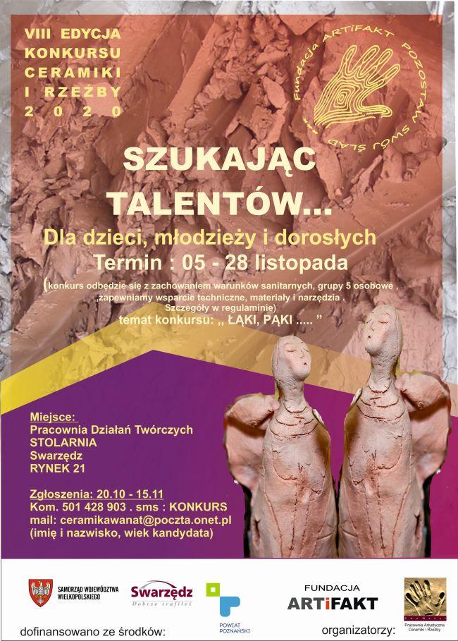 plakat konkur rzeźba