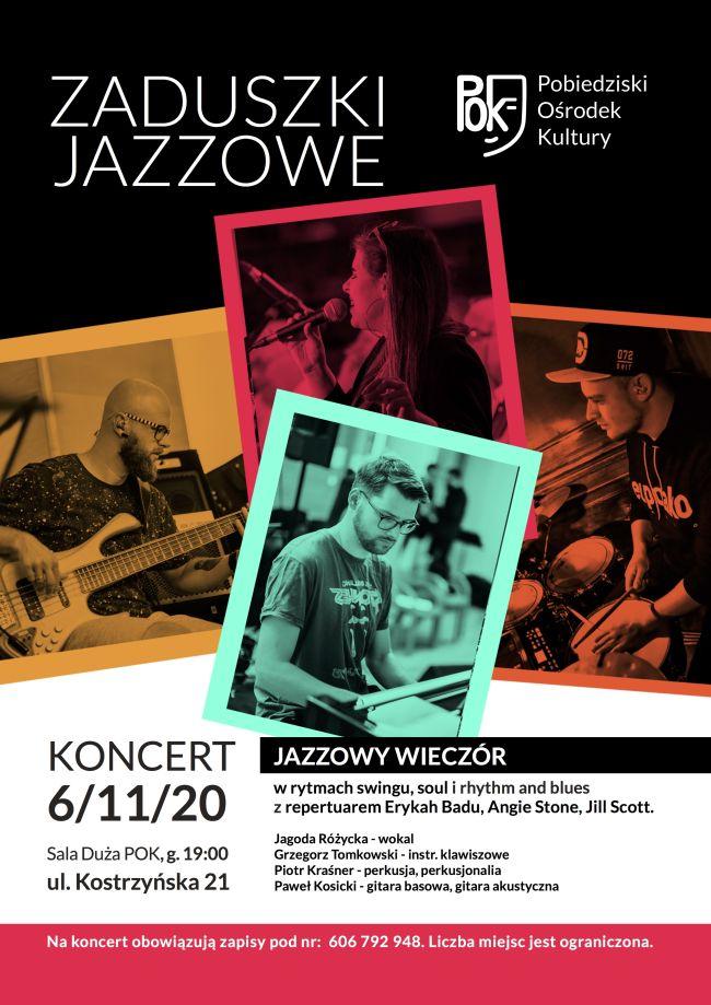 zaduszki jazzowe plakat