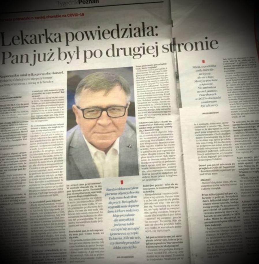 Starosta poznański na stronie Gazety Wyborczej
