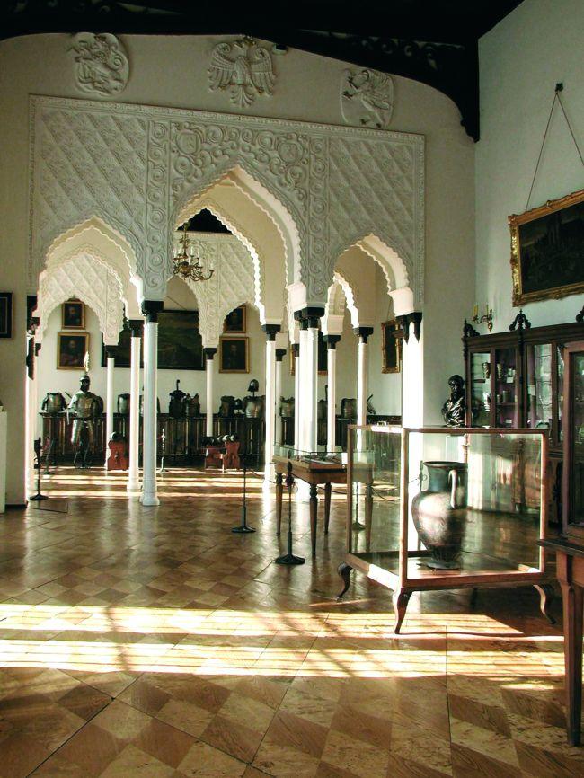 Sala Mauretańska na zamku w Kórniku