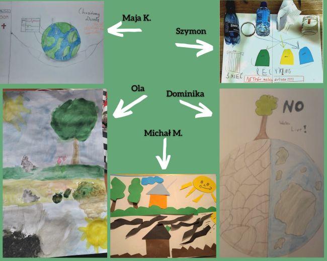 prace dzieci na temat środowiska