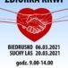 plakat zbiórka krwi