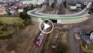Nowy wiadukt w Murowanej Goślinie