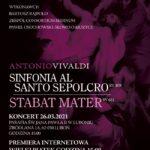 Plakat - V Koncert Muzyki Pasyjnej w Luboniu - 26 marca 2021
