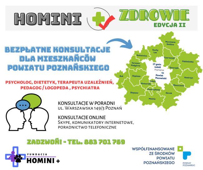 Homini + Zdrowie II konsultacje