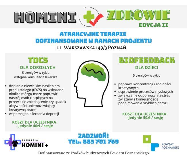 Homini + Zdrowie II terapie