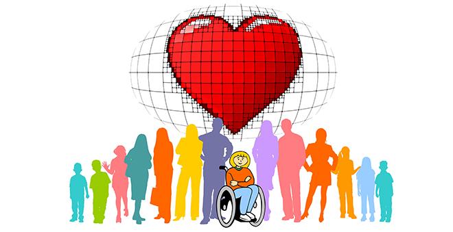 dzień osób niepełnosprawnych grafika