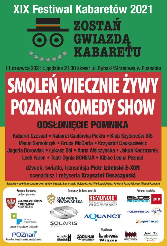 kabaret plakat smoleń