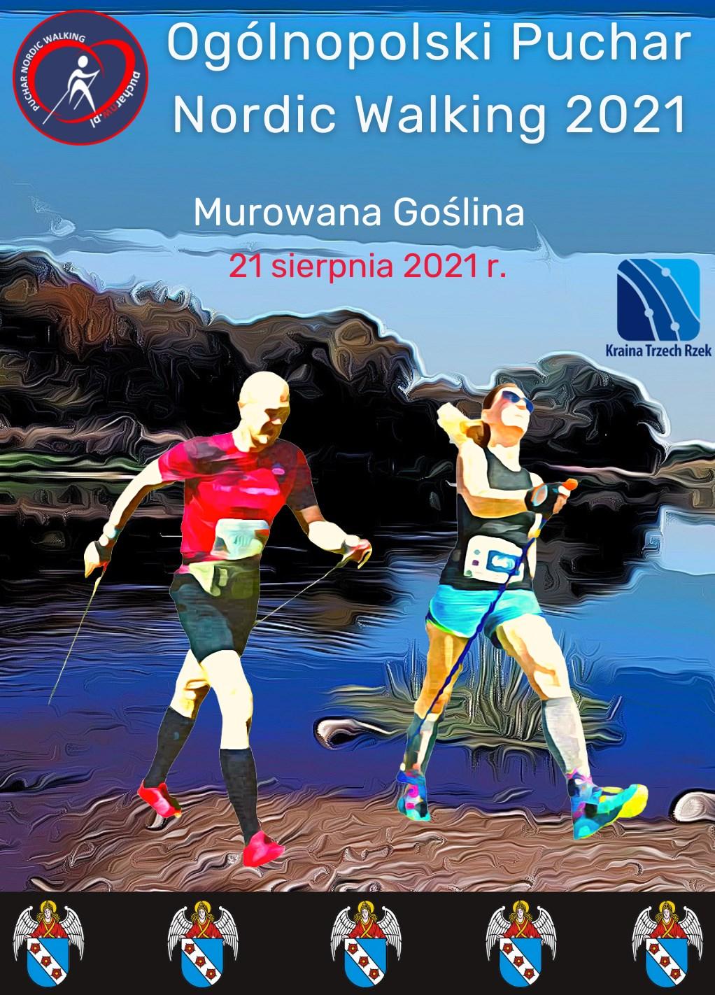 plakat ogólnopolski puchar nordic walking murowana goślina