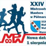 plakat MP masters w półmaratonie