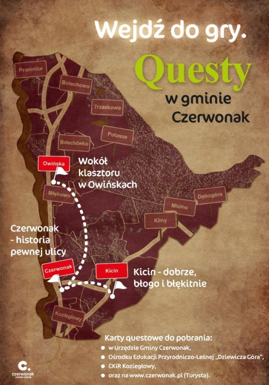 gminne questy czerwonak plakat