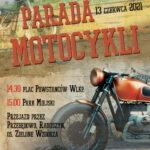 plakat parada motocykli