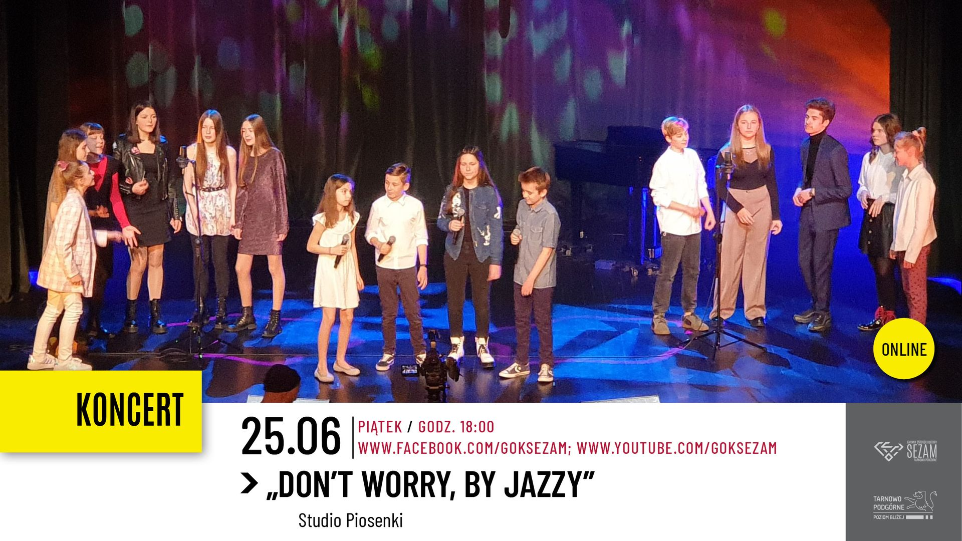 koncert Don't worry, by Jazzy