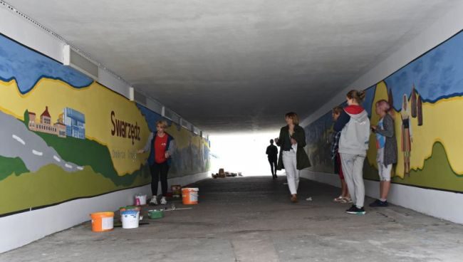 mural w swarzędzu