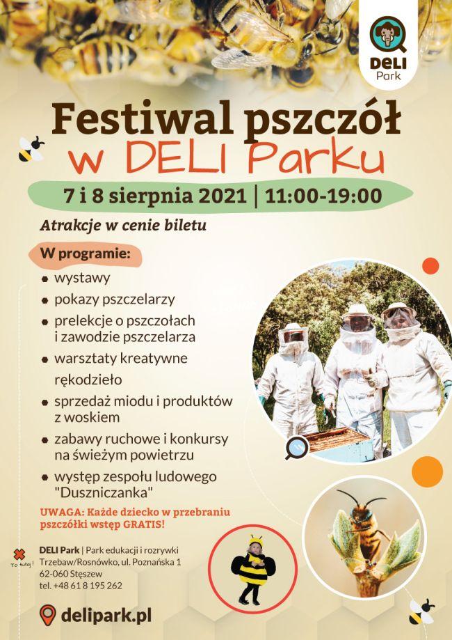 festiwal pszczół plakat