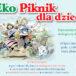 plakat piknik ekologiczny w murowanej goślinie