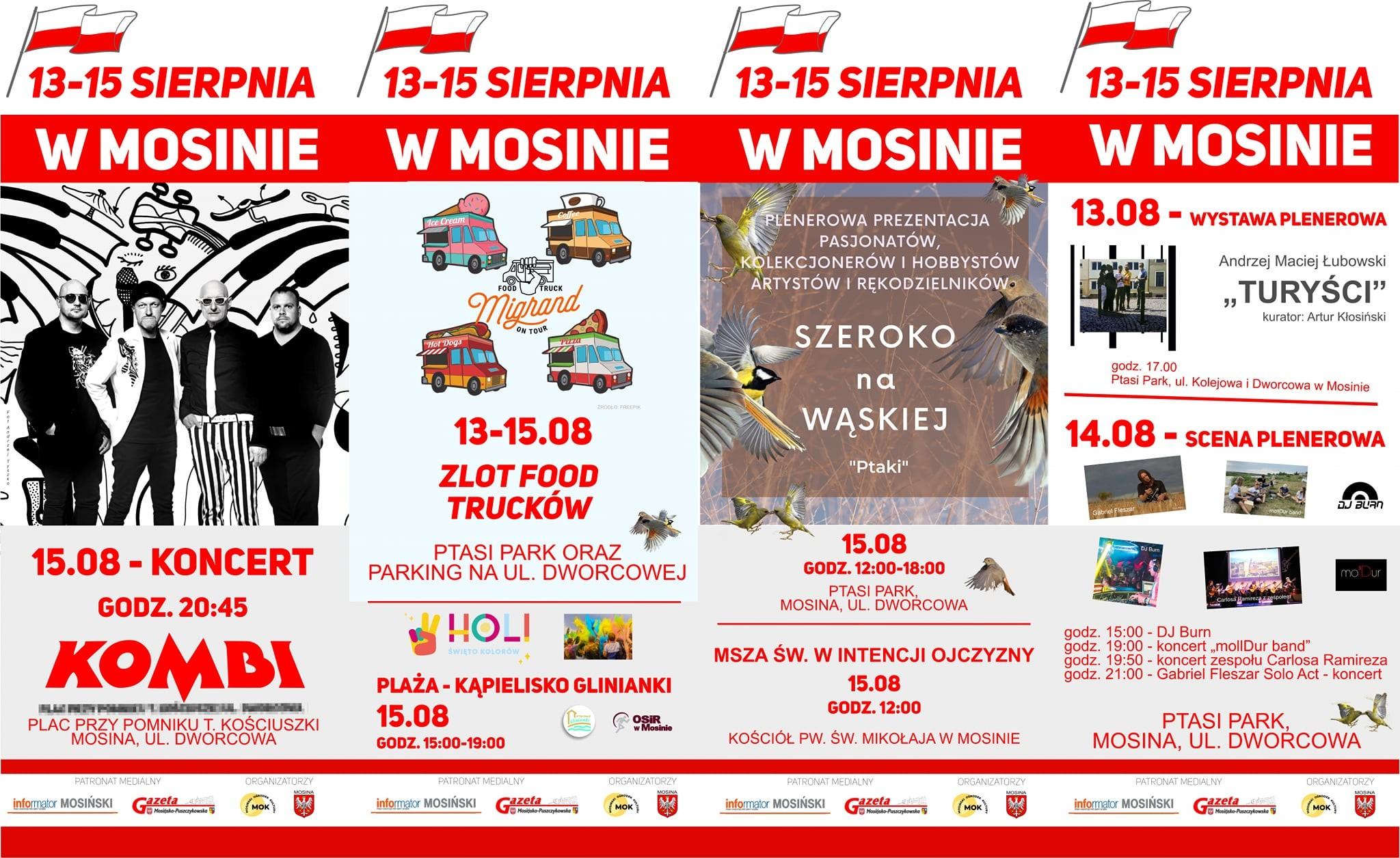 Plan Obchodów od 13 do 15 sierpnia w Mosinie