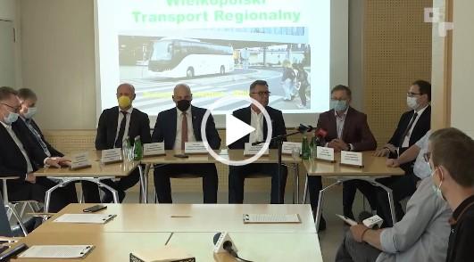 Uczestnicy spotkania o transporcie regionalnym