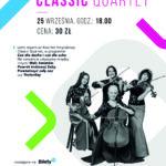 plakat classic quartet koncert w CTK Komorniki