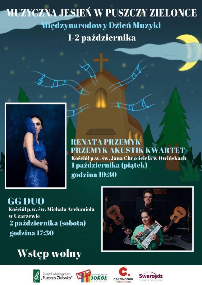 plakat koncerty