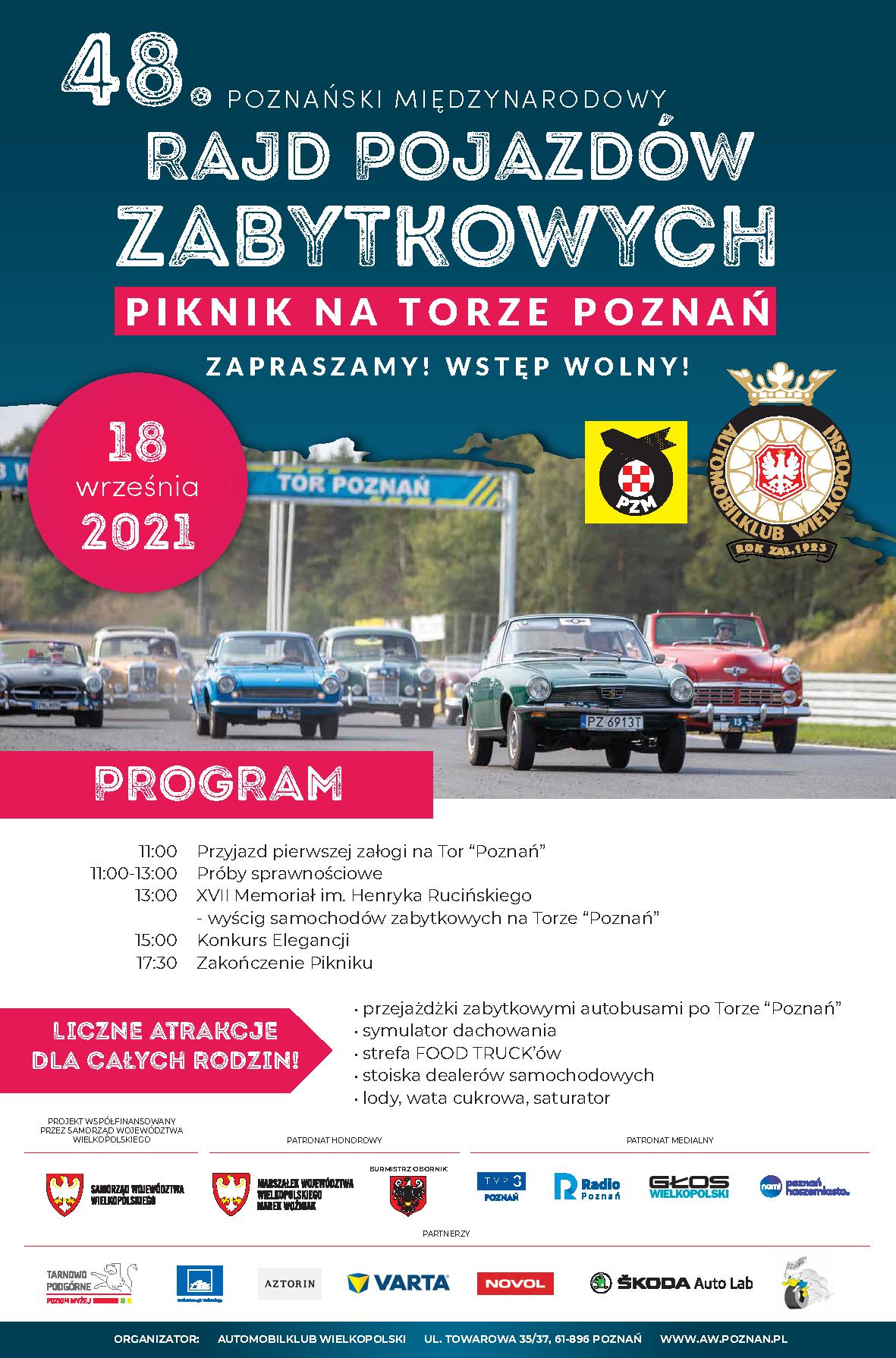 48. Poznański Międzynarodowy Rajd Pojazdów Zabytkowych